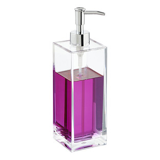 13.5 oz. Square Acrylic Soap Pump