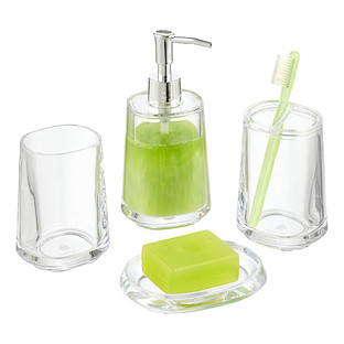 Capri Plastic Countertop Bathroom Set