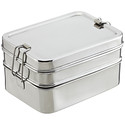 Stainless Steel Rectangular 3-in-1 ECOlunchbox