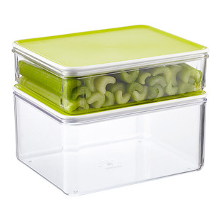 Modulbox Food Storage with Lime Lids