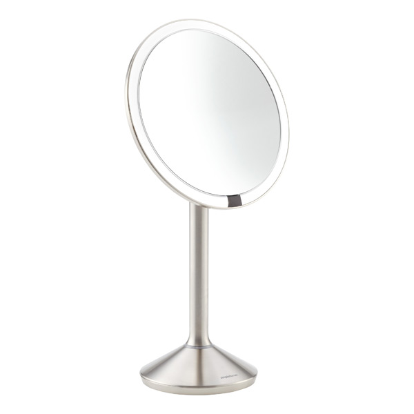 simplehuman 7x sensor makeup mirror the container store. Black Bedroom Furniture Sets. Home Design Ideas