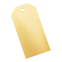 Gold Foil Tag-It Gift Tags