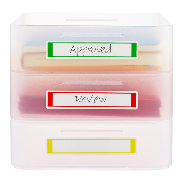Small Avery Self-Laminating Labels