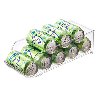 InterDesign Linus Fridge Bins Soda Can Organizer
