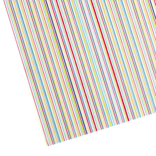 Multi Stripes Waxed Tissue