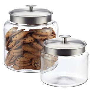 kitchen glass storage containers anchor hocking montana glass canisters reviews the 4915