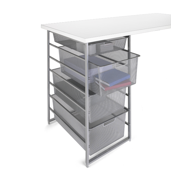 Platinum elfa Mesh Desk Drawers