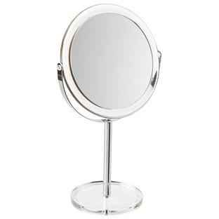 1X/5X Countertop Pedestal Makeup Mirror