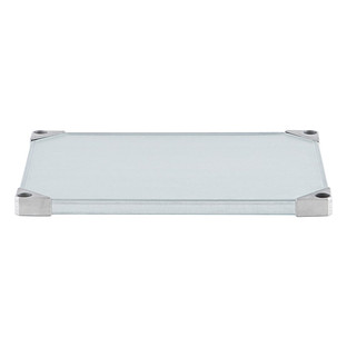 Metro Commercial Industrial Galvanized Solid Shelves