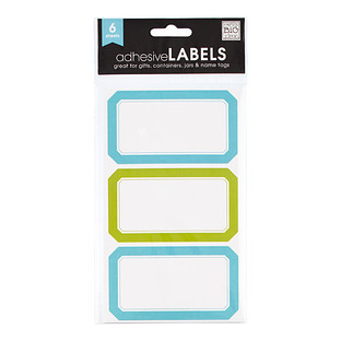 Turquoise & Lime Multi-Purpose Labels