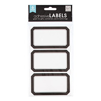 Black Multi-Purpose Labels