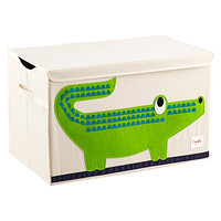 Crocodile Toy Chest by 3 Sprouts