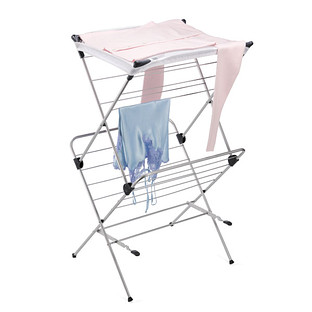 Polder 2-Tier Mesh-Top Clothes Drying Rack