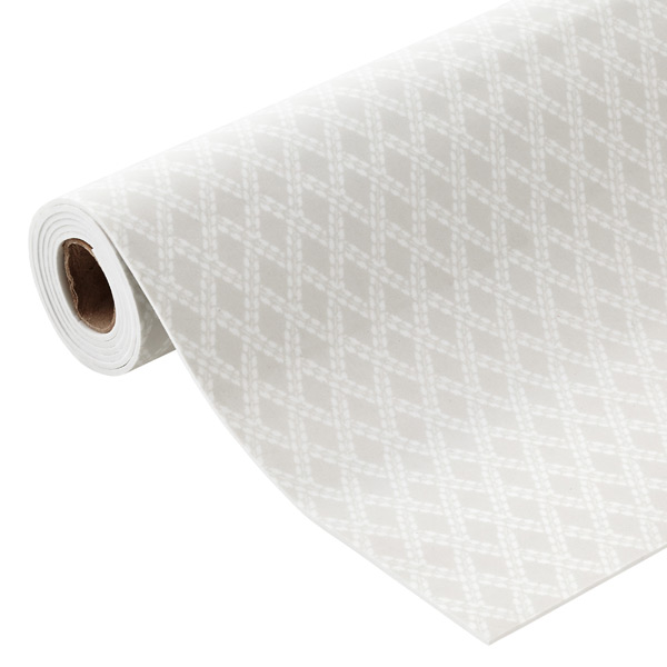Grey Fabric-Top Drawer Liner