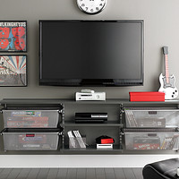 Driftwood & Platinum Media Center