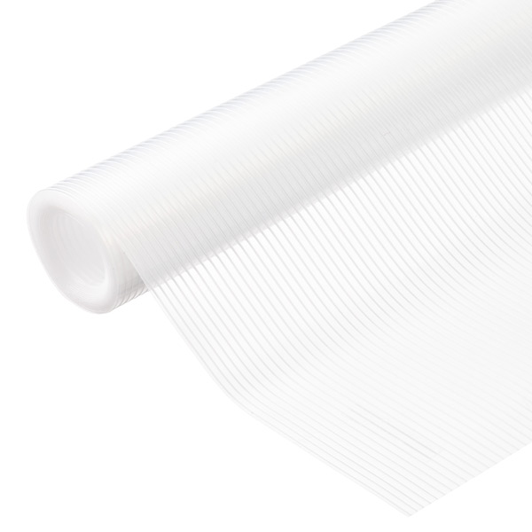 Drawer Shelf Liner Clear Plast O Mat Ribbed Shelf Liner The Container Store