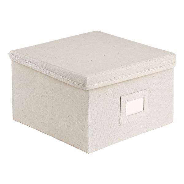 Storage Maniac Medium Polyester Canvas Storage Box with Lid, Foldable Storage Bins, Pack of 3 Product - StorageManiac Jumbo Polyester Canvas Storage Box with Lid, Foldable Storage Bins, Pack of 3 Product Image.