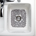 Graphite Pebblz Sink Mat