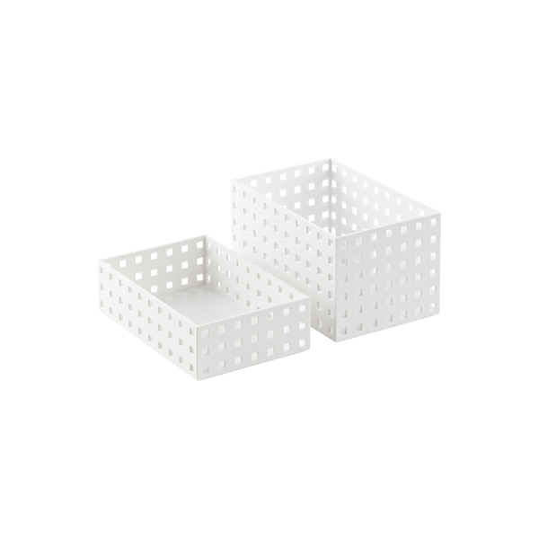 White Like-it Bricks 8-1/4 Medium Bins