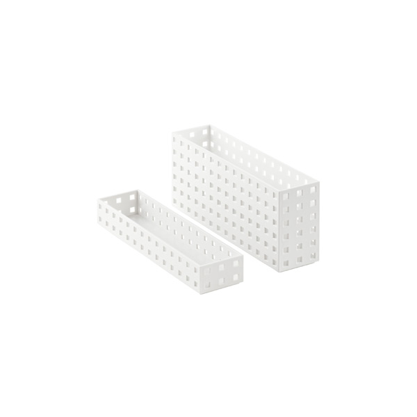 White Like-it Bricks Narrow Bins