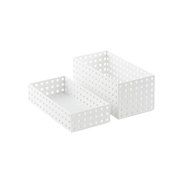 White Like-it Bricks 11 Medium Bins