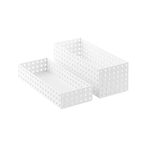 White Like-it Bricks 13-3/4 Medium Bins