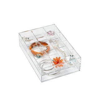 Clear Acrylic Small Stackable Trays