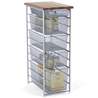 Platinum elfa Mesh Pantry Storage