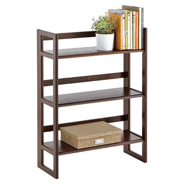 Bookshelves Images folding bookshelf - java solid wood stackable folding bookshelf