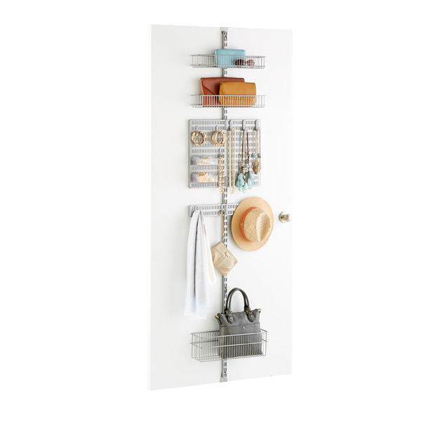 Elfa Utility Closet Door U0026 Wall Rack