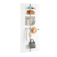 elfa utility Closet Door & Wall Rack