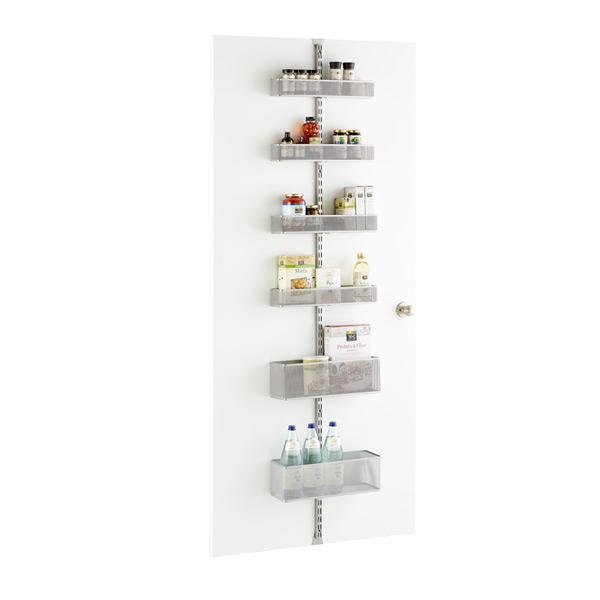 Platinum elfa utility Mesh Pantry Door \u0026 Wall Rack Solution