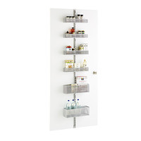 Platinum elfa utility Mesh Pantry Door & Wall Rack