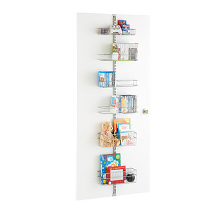 Platinum elfa utility Media Room Door & Wall Rack Solution