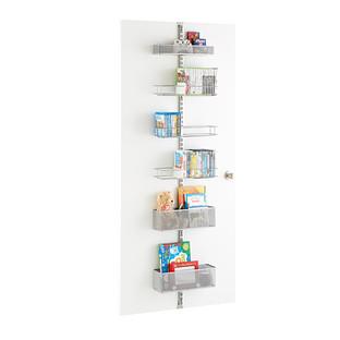 Platinum Elfa Utility Mesh Media Room Door & Wall Rack Solution