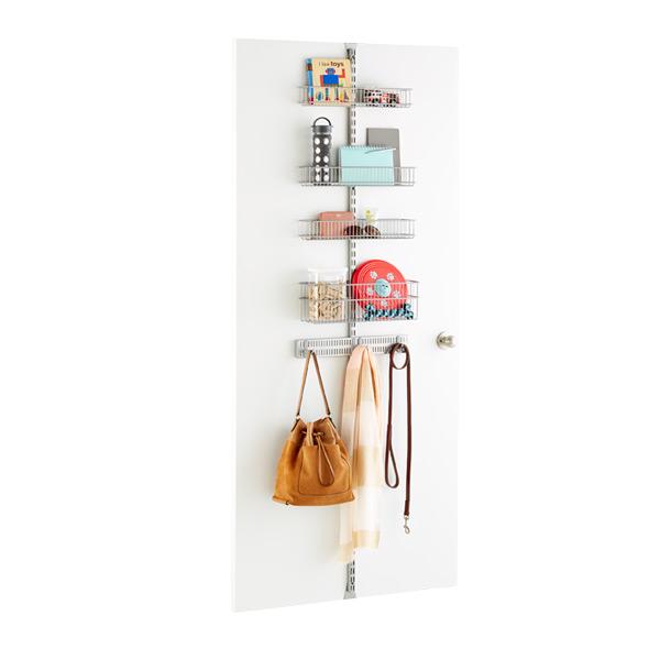 Platinum Elfa Utility Drop Zone Door & Wall Rack Solution