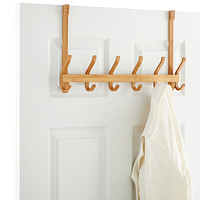 6 Hook Bamboo Door Hanger