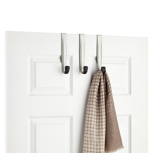 Umbra Schnook 3-Hook Over the Door Hook Rack
