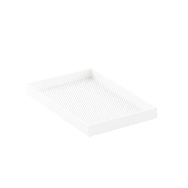 White Like-it Bricks 8-1/4 Medium Tray