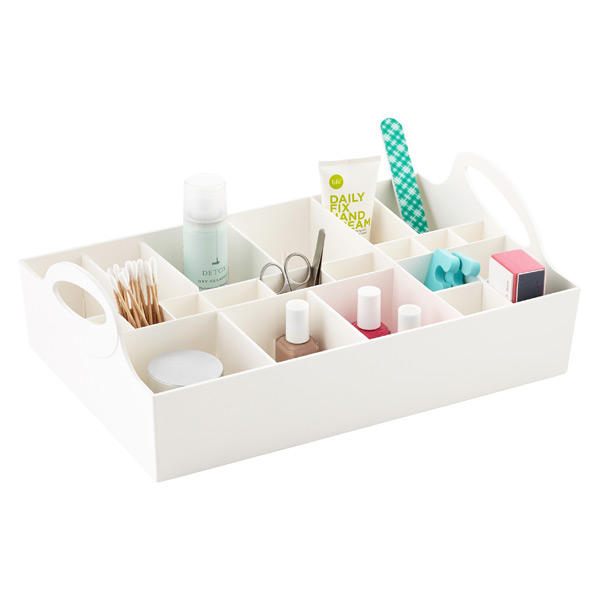 Adjustable Cosmetics Organizer Tray