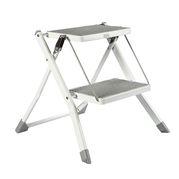 Polder Slim Folding Step Stool The Container Store