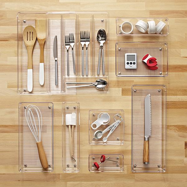 Interdesign Linus Expandable Cutlery Organizer The
