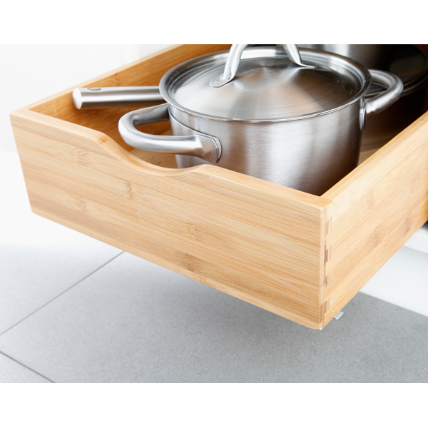 Cabinet Drawers - Bamboo Pull-Out Cabinet Drawers | The Container ...