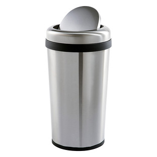 Round Swing Lid Trash Can