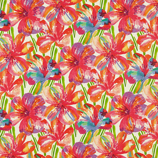 Floral Pop Wrapping Paper