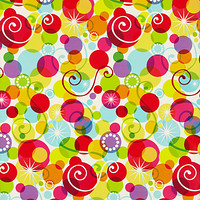 Graphic Swirl Recycled Gift Wrap