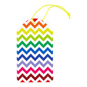 Rainbow Chevron Gift Tags