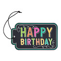 Happy Birthday Chalkboard Gift Tags