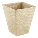 Natural Square Pandan Wastebasket