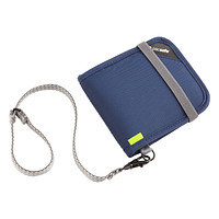 Navy RFID-Blocking Bi-Fold Wallet